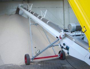 CanAGRO - Header: Rohrbandförderer