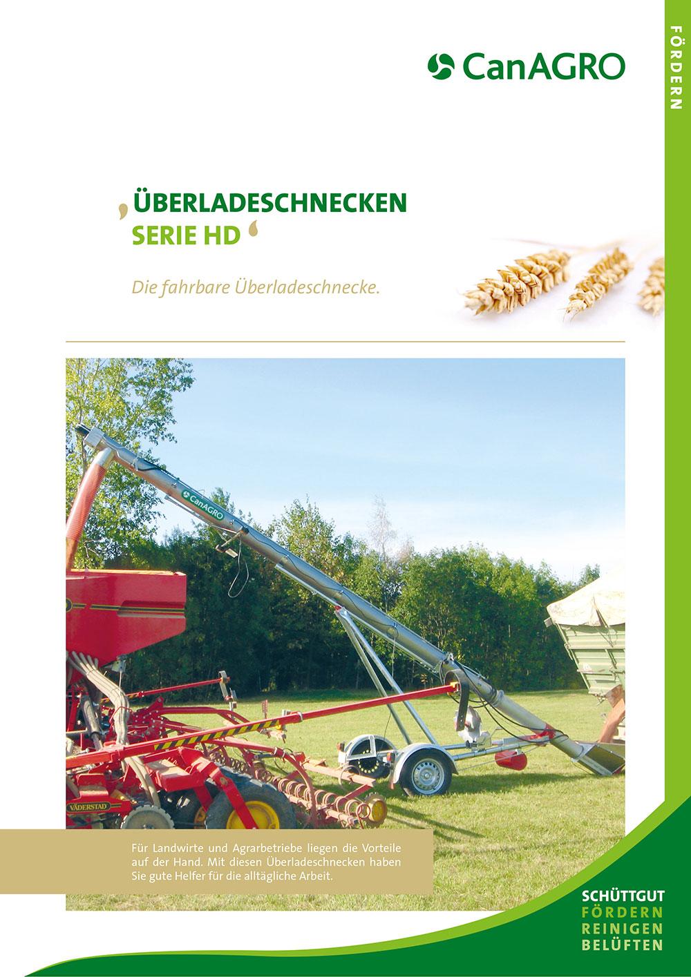 CanAGRO - PDF:Überladeschnecken - Serie HD