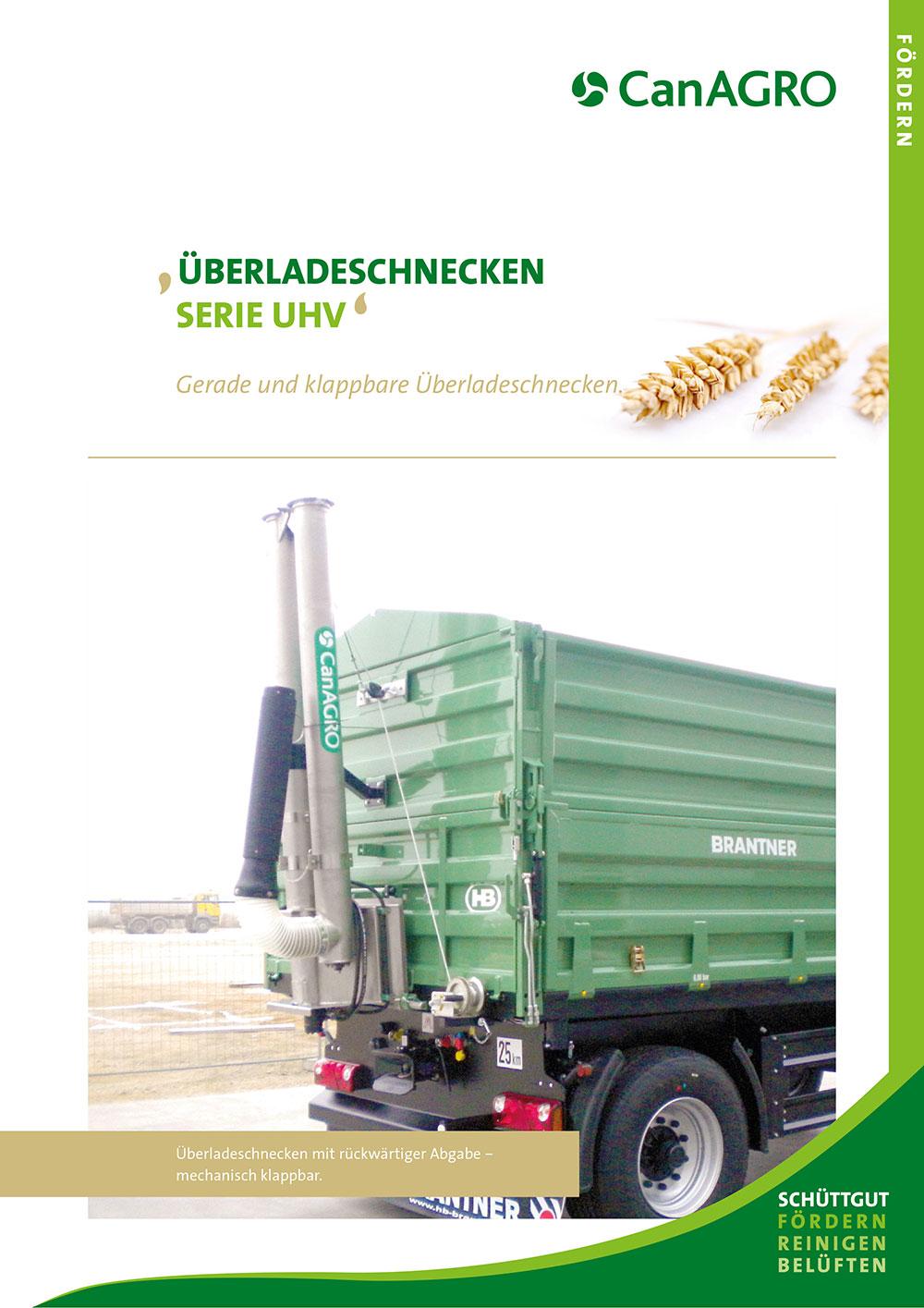 CanAGRO - PDF:Überladeschnecken - Serie UHV