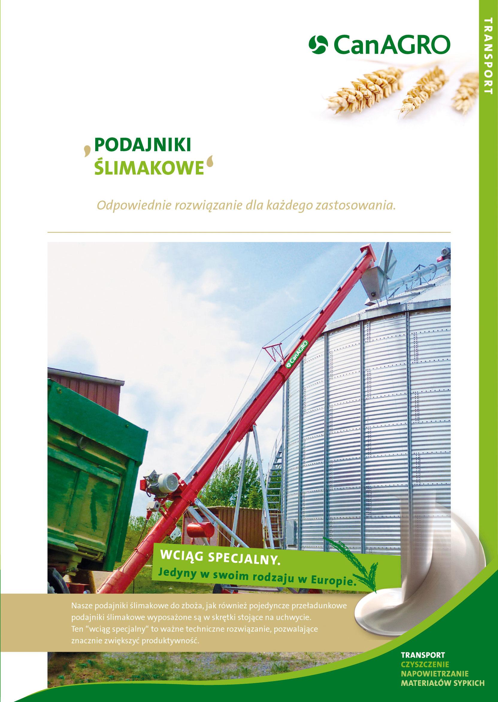 CanAGRO - PDF: Förderschnecken-Polnisch