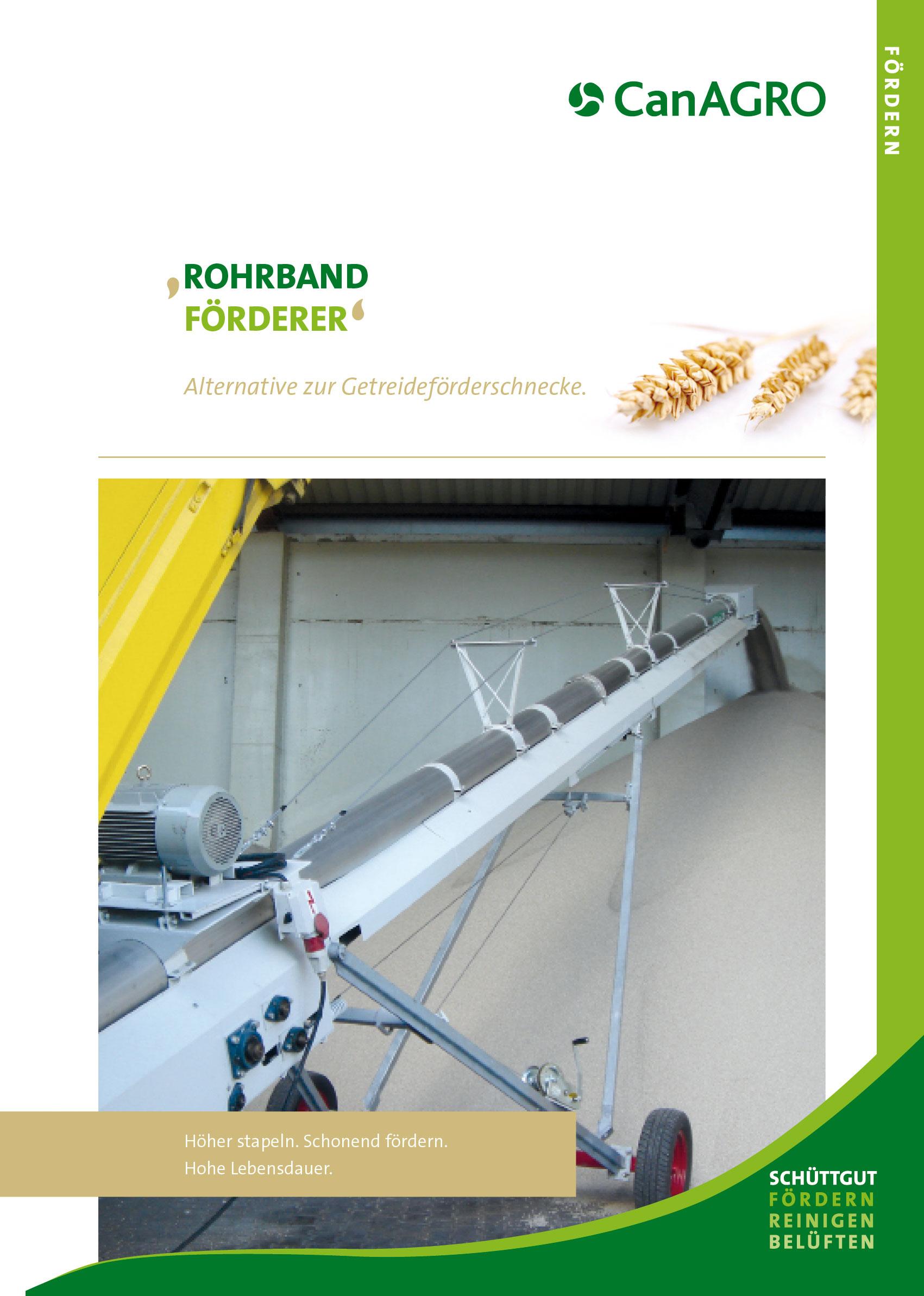 CanAGRO - PDF: Rohrbandförderer - deutsch