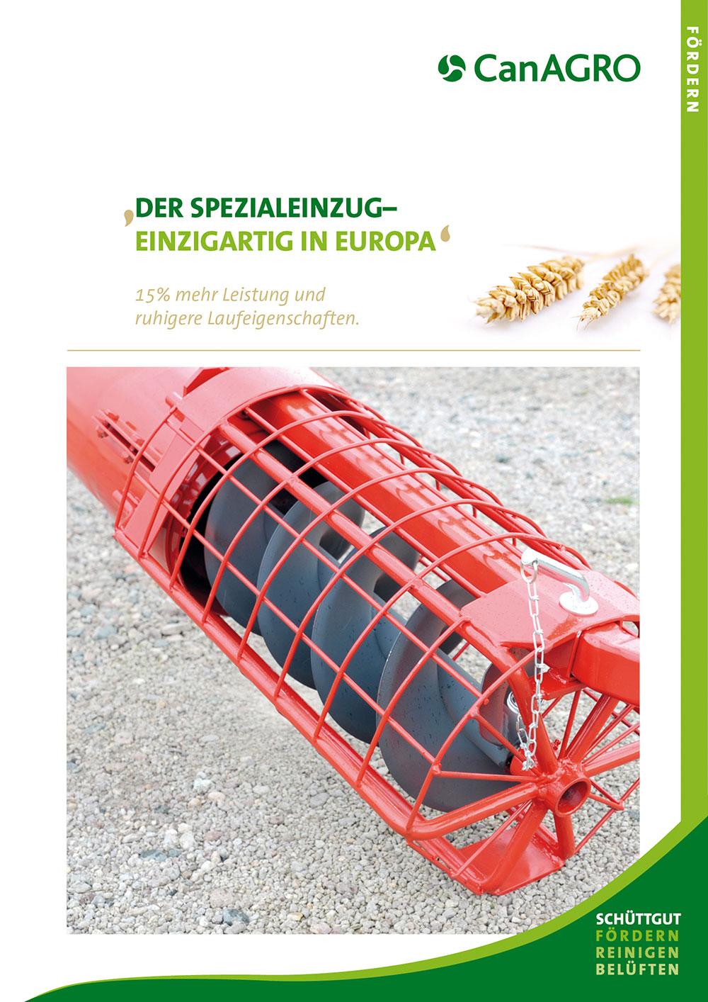 CanAGRO - PDF: Spezialeinzug