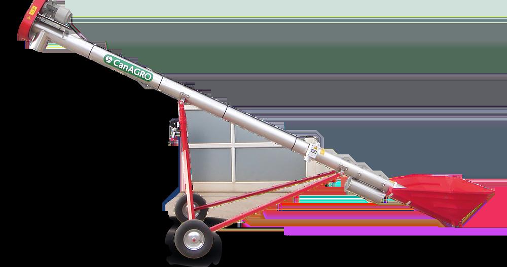 CanAGRO - Foto: Mobile Förderschnecke mit Leichtfahrgestell
