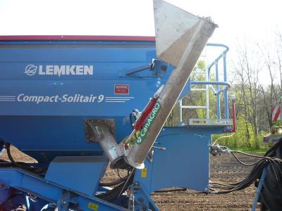 Aufbauschnecke Lemken-Compact-Solitaire