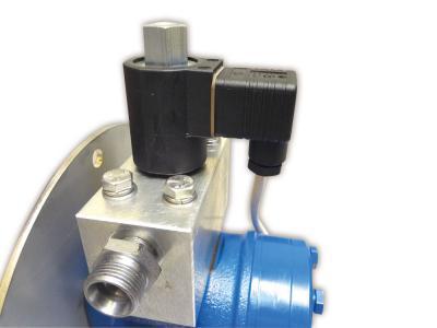 Elektromagnetventil mit Schalter
