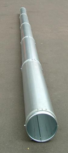 Teleskopbelüftungskanal-