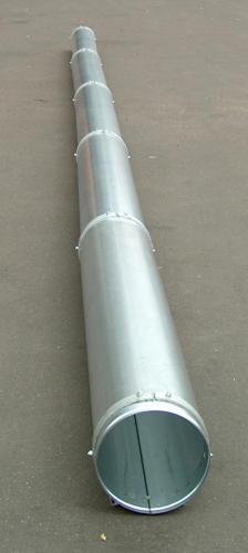 Teleskopbelüftungskanal